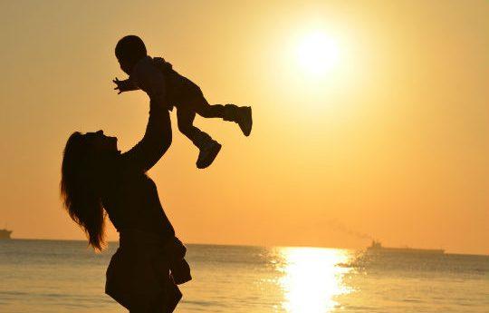 Aproveite os filhos enquanto são pequenos, pois o tempo passa voando